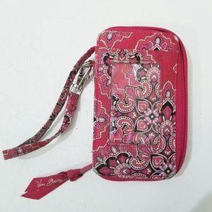 Vera Bradley Wristlet Wallet Red